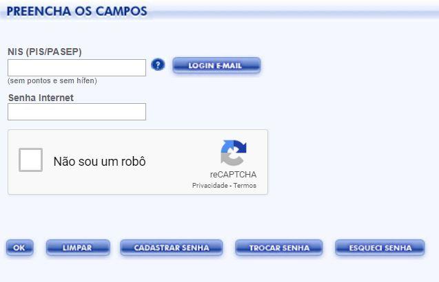 Consulta PIS 2022 pela Internet
