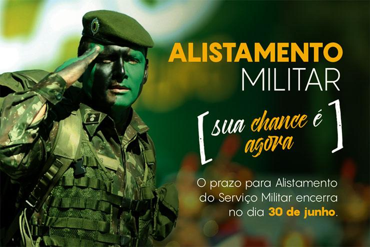 Inscrição Alistamento Militar 2022