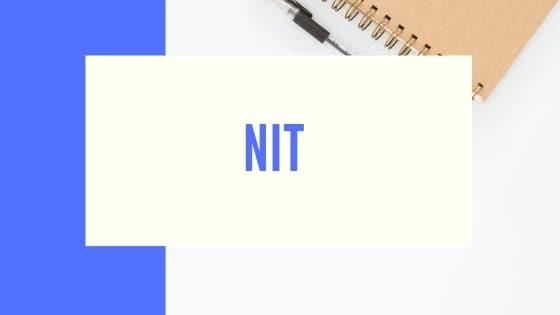 NIT 2022